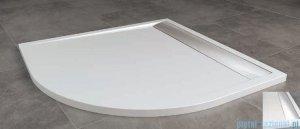 SanSwiss Ila Wir Brodzik półokrągły 90x90cm kolor biały/połysk WIR550905004