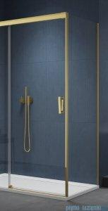 SanSwiss Cadura Gold Line ścianka boczna Cast 75x200cm profile złote CAST0751207