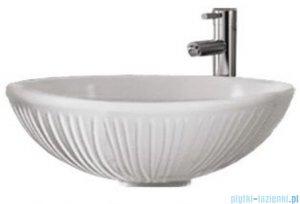 Sanitti Terra umywalka nablatowa 42 cm biały połysk TERRA-42-BP