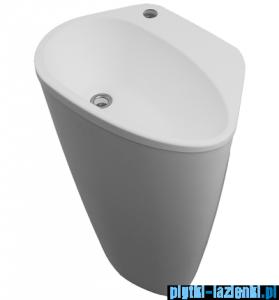 Omnires umywalka wolnostojąca 56,5x41cm biały mat SycyliaMarble+BM