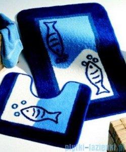 Sealskin Dywanik łazienkowy kontur Marina niebieski 55x45cm 292295024
