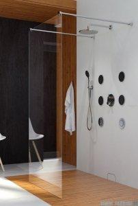 Clusi Hera kabina Walk-in 90x200 cm przejrzyste 3329HER90