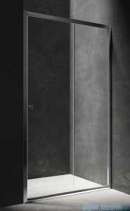 Omnires Bronx drzwi prysznicowe 130x185cm przezroczyste S2050130CRTR
