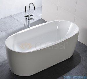 Massi Elegant 150 wanna wolnostojąca 150x75 cm biała MSWA822150