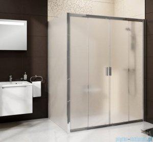 Ravak Blix BLDP4 drzwi prysznicowe 140cm białe transparent Anticalc 0YVM0100Z1