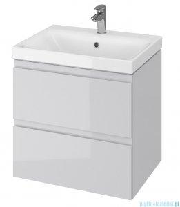 Cersanit Moduo Slim szafka wisząca z umywalką 60x37x62 cm szara S801-226