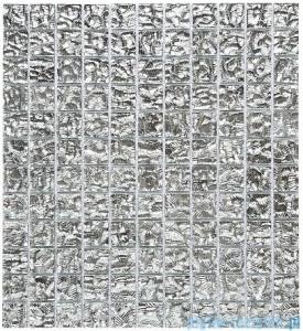 Dunin Vitrum mozaika szklana 30x30 silverato 001