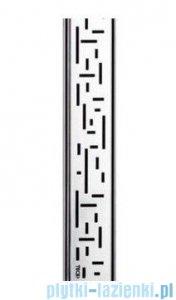 Tece Ruszt prosty Lines ze stali nierdzewnej Tecedrainline 70 cm połysk 6.007.20