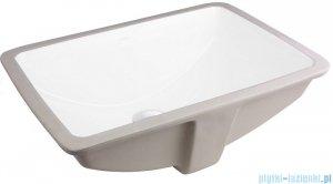 Oltens Drammen umywalka 52x37 cm podblatowa z powłoką SmartClean 40603000
