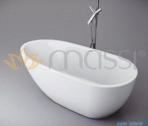 Massi Brevis wanna wolnostająca 170x80cm biała + syfon MSWA515170