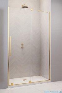 Radaway Furo Gold DWJ drzwi prysznicowe 90cm prawe szkło przejrzyste 10107472-09-01R/10110430-01-01