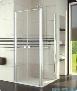 SanSwiss Swing Line SLT2 Ścianka boczna 70cm profil biały SLT207000407