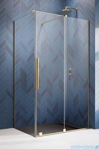 Radaway Furo Gold  Kdj kabina 100x70cm prawa szkło przejrzyste 10104522-09-01R/10110480-01-01/10113070-01-01