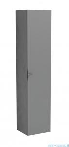 Oristo Siena szafka boczna wysoka 35x160x32cm szary mat OR45-SB1D-35-12