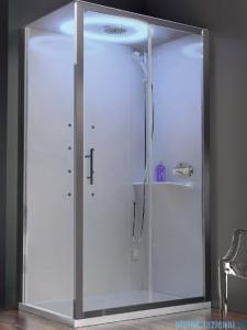 Novellini Eon kabina prostokątna z hydromasażem 100x80 prawa EONA100DT1-1AK