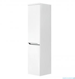 Oristo Silver szafka boczna wysoka prawa 35x144x35cm biały połysk OR33-SB2D-35-1-P