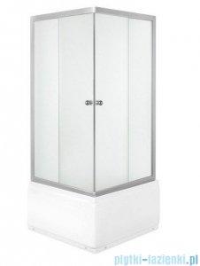 Novoterm Kerra Kabina prysznicowa PICO GL 90x90 cm + Brodzik głęboki