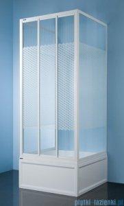 Sanplast kabina przyścienna kwadratowa KT/DTr-c-70 70x70x185 cm polistyren 600-013-0911-01-520