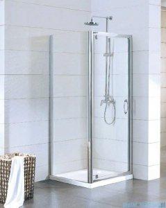 Kermi Acca Ściana boczna, szkło przezroczyste, profile srebrne 100x190cm ACTWD10019VPK