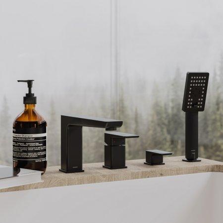 Armatura łazienkowa w czerni