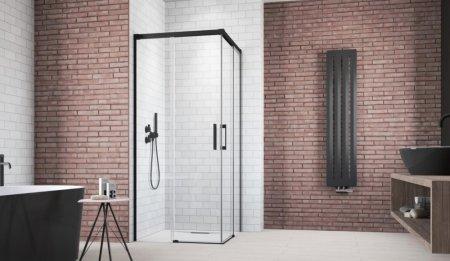 Czarne dodatki w łazience - do jakich wnętrz pasują?