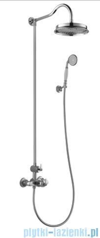 Omnires Armance system prysznicowy natynkowy termostatyczny chrom
