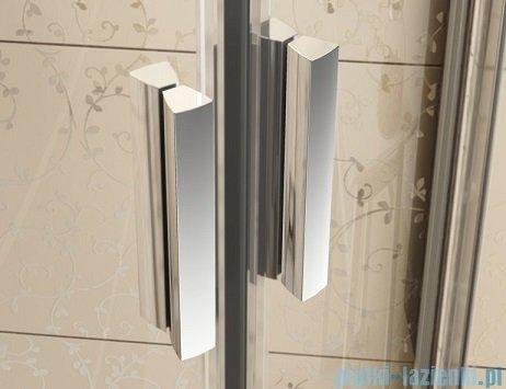 Ravak Blix BLRV2K drzwi prysznicowe 1/2 110cm aluminium transparent Anticalc 1XVD0C00Z1