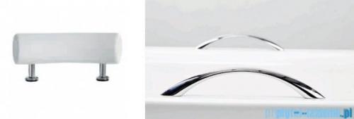 Besco Optima Premium 170x70cm wanna prostokątna z uchwytami i zagłówkiem + obudowa + syfon #WAO-170-PKP/#OAO-170-PK/19975