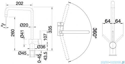 Blanco Finess bateria wysokociśnieniowa kolor: chrom 512322