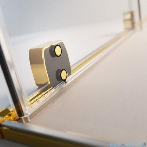 Radaway Furo Gold PND II parawan nawannowy 110cm prawy szkło przejrzyste 10109588-09-01R/10112544-01-01