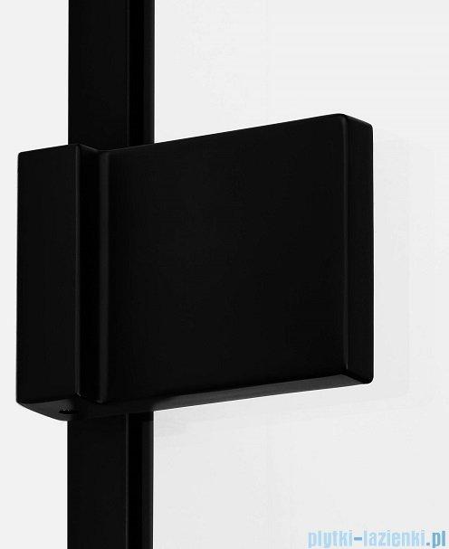 New Trendy Avexa Black kabina prostokątna 90x100x200 cm przejrzyste lewa EXK-1578