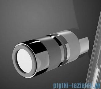 Radaway Eos II PDD kabina prysznicowa 80x80 szkło przejrzyste + brodzik Delos A + syfon 3799470-01L/3799470-01R/SDA0808-01