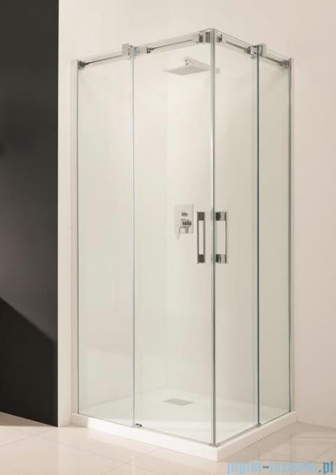 Radaway Espera KDD Kabina prysznicowa 90x90 szkło przejrzyste + brodzik Delos C + syfon 380151-01L/380151-01R/SDC0909-01