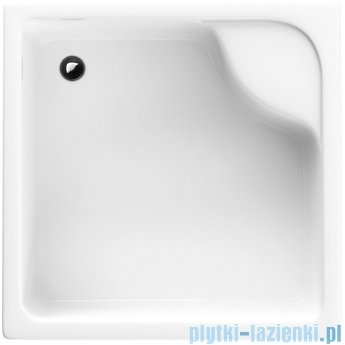 Schedpol Brodzik kwadratowy z siedziskiem Dante 80x80x41 3.032