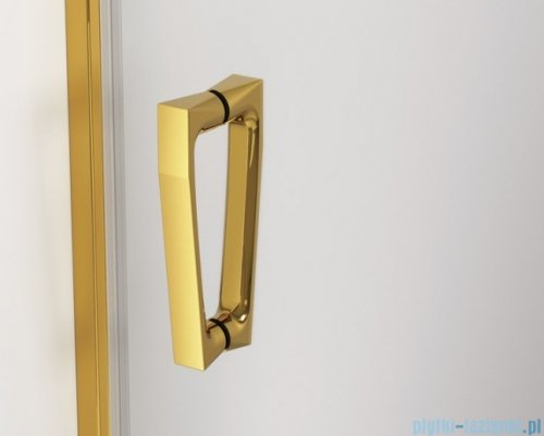 SanSwiss Cadura Gold Line drzwi przesuwne 170cm jednoskrzydłowe prawe z polem stałym CAS2D1701207