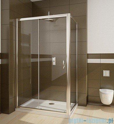 Radaway Premium Plus S Ścianka boczna 100 szkło brązowe