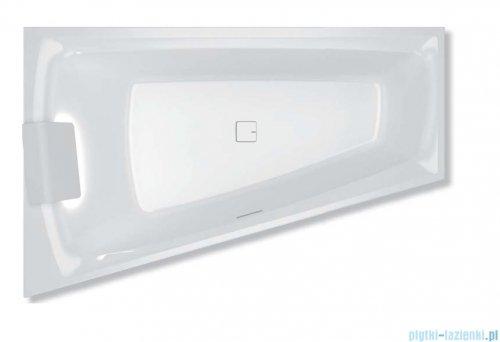 Riho Still Smart LED wanna asymetryczna z oświetleniem 170x110cm prawa + syfon BR0300500K00130