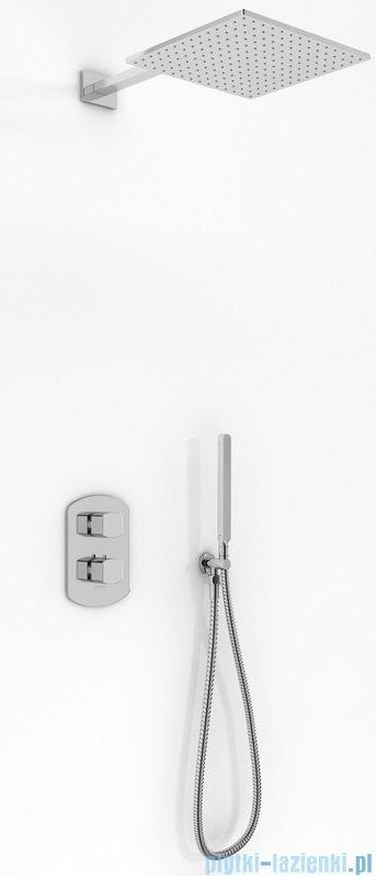 Kohlman Foxal zestaw prysznicowy chrom