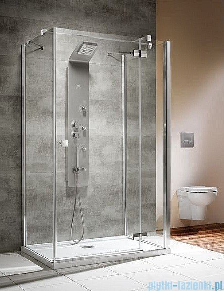 Radaway Kabina prysznicowa Almatea KDJ+S 80x120x80 prawa szkło przejrzyste