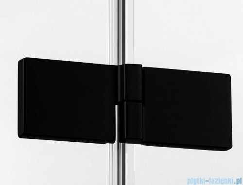 New Trendy Avexa Black kabina prostokątna 120x100x200 cm przejrzyste lewa EXK-1602