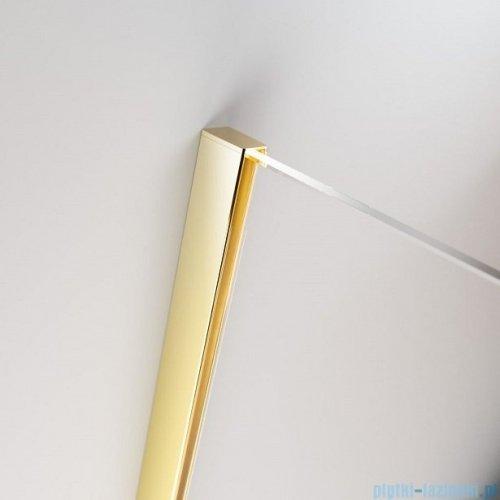 Radaway Furo Gold  Kdj kabina 90x100cm prawa szkło przejrzyste 10104472-09-01R/10110430-01-01/10113100-01-01