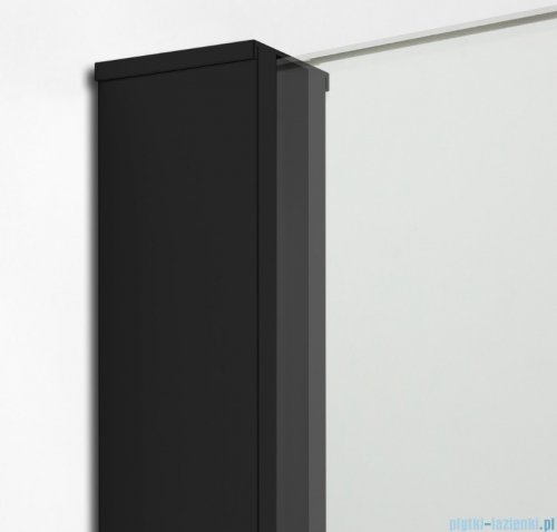 New Trendy New Modus Black kabina Walk-In 130x100x200 cm przejrzyste EXK-1297