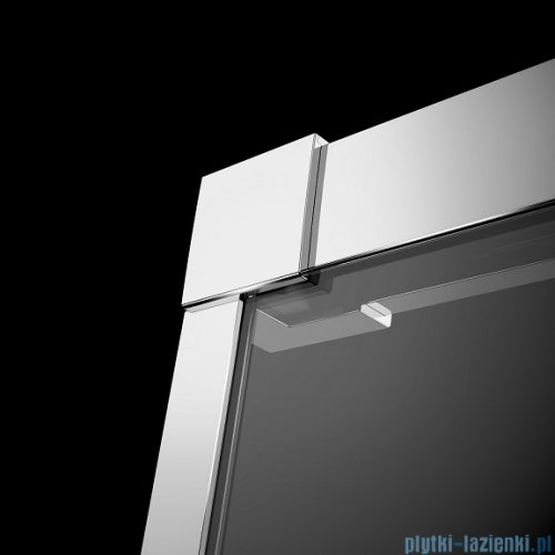 Radaway Idea Kdd kabina 100x80cm szkło przejrzyste + brodzik Doros D + syfon