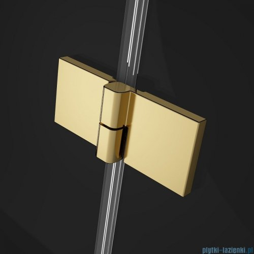 Radaway Essenza Pro Gold Kdj kabina 100x75cm prawa przejrzyste 10097100-09-01R/10098075-01-01