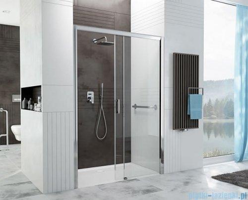 Sanplast Free Zone drzwi przesuwne D2P/FREEZONE 110x190 cm prawa przejrzyste 600-271-3140-38-401