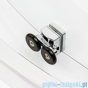 New Trendy New Corrina kabina przyścienna 150x80x195 cm przejrzyste K-0484