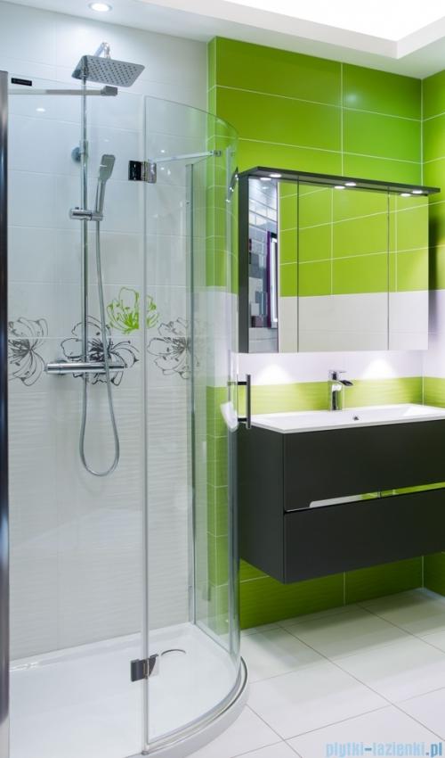 Omnires zestaw prysznicowy natynkowy-termostatyczny chrom Y1244/6/K-X