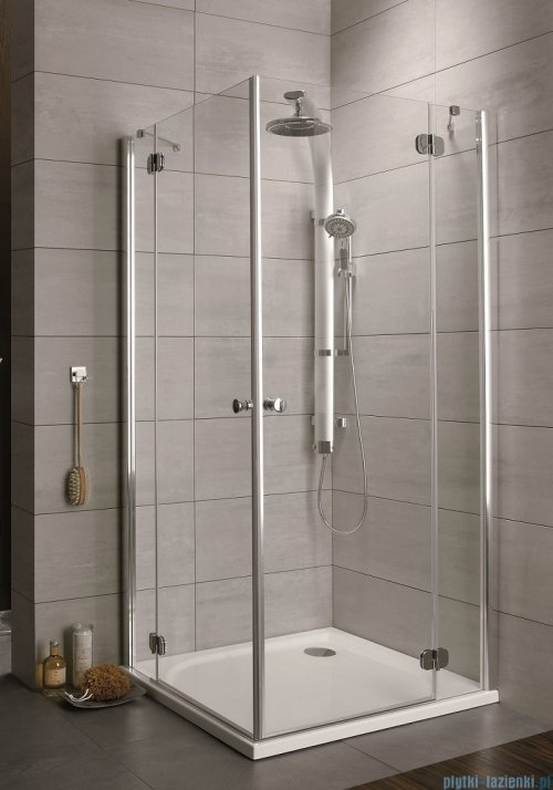 Radaway Torrenta Kdd Kabina prysznicowa 90x80 szkło grafitowe
