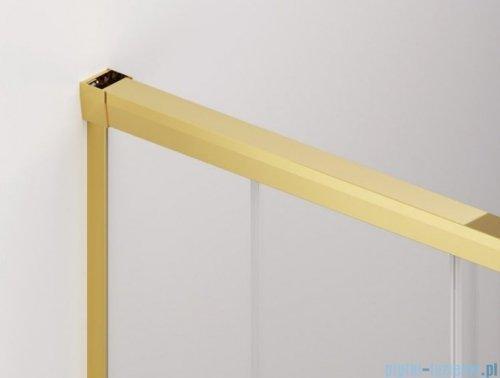 SanSwiss Cadura Gold Line drzwi przesuwne 100cm jednoskrzydłowe prawe z polem stałym CAE2D1001207