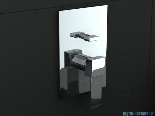 Kohlman Axis podtynkowa bateria wannowo-prysznicowa z dwoma wyjściami